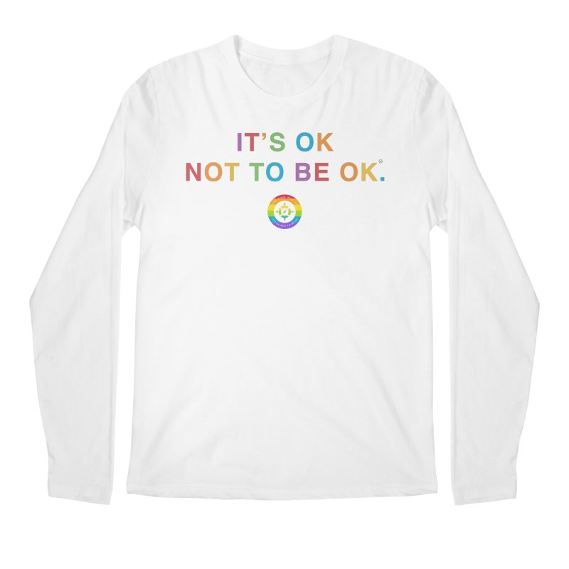 IT'S OK LGBT Men's Regular Longsleeve T-Shirt by Hope for the Day Shop