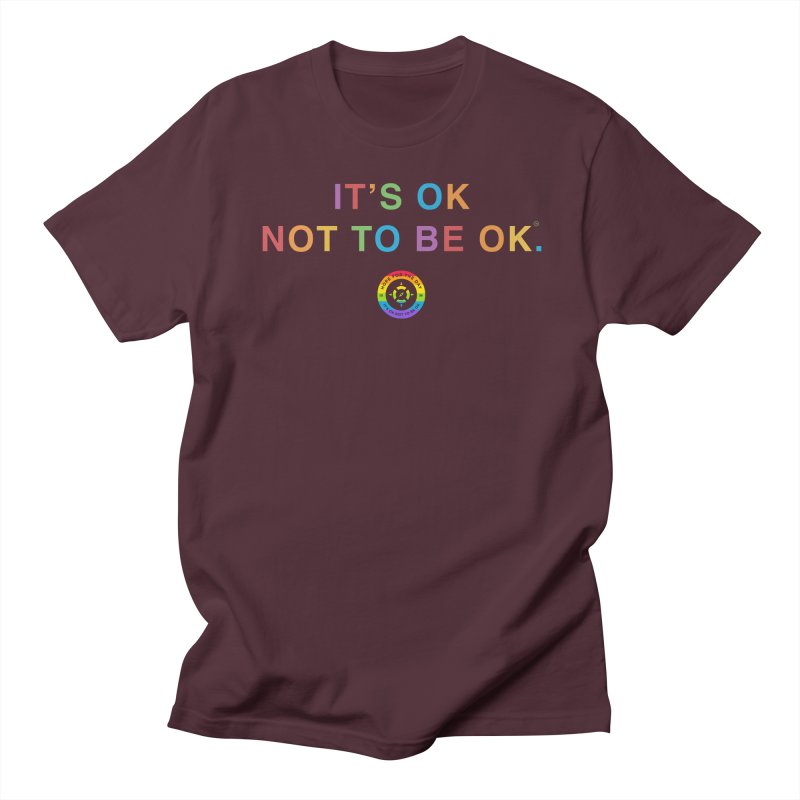 IT'S OK LGBT Men's Regular T-Shirt by Hope for the Day Shop