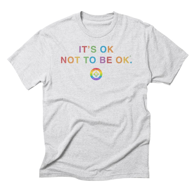 IT'S OK LGBT Men's Triblend T-Shirt by Hope for the Day Shop