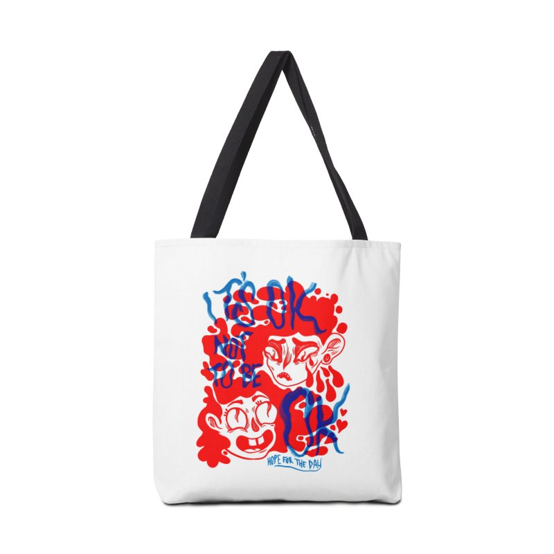 Anna Lisa - Artist Series Accessories Tote Bag Bag by Hope for the Day Shop