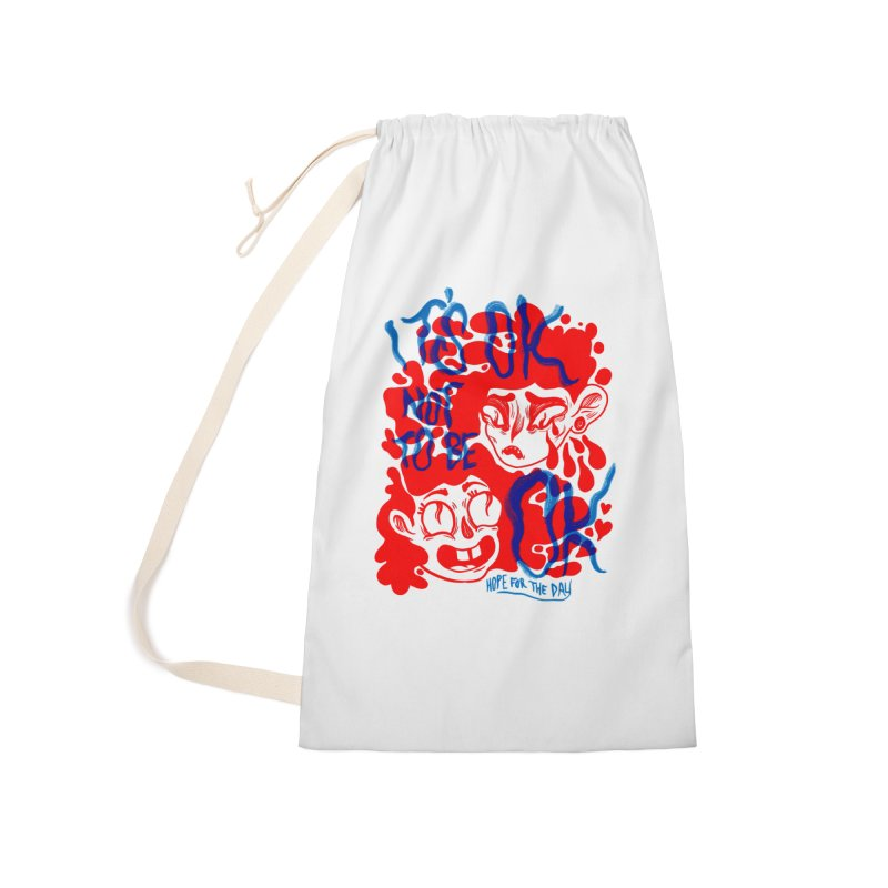 Anna Lisa - Artist Series Accessories Laundry Bag Bag by Hope for the Day Shop