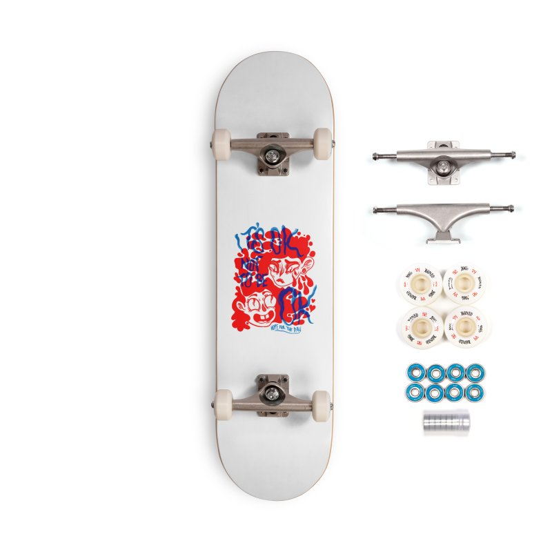 Anna Lisa - Artist Series Accessories Complete - Premium Skateboard by Hope for the Day Shop