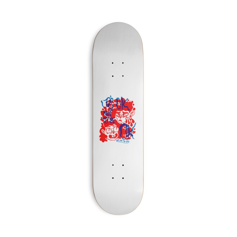 Anna Lisa - Artist Series Accessories Deck Only Skateboard by Hope for the Day Shop