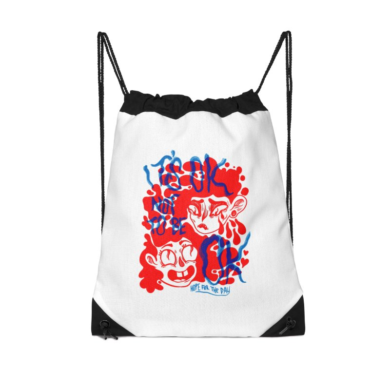 Anna Lisa - Artist Series Accessories Drawstring Bag Bag by Hope for the Day Shop
