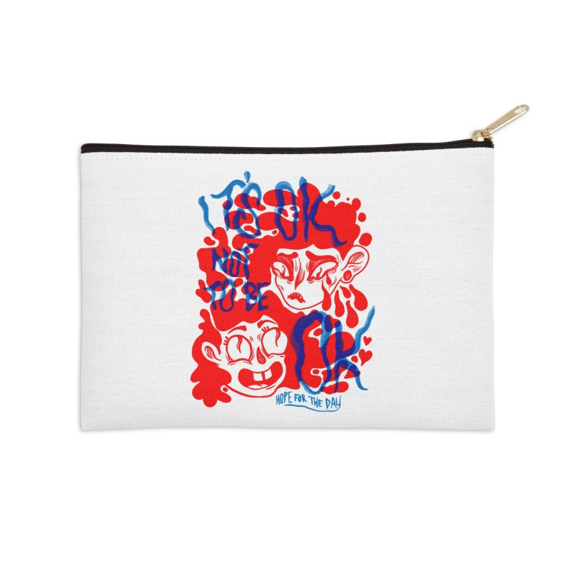 Anna Lisa - Artist Series Accessories Zip Pouch by Hope for the Day Shop