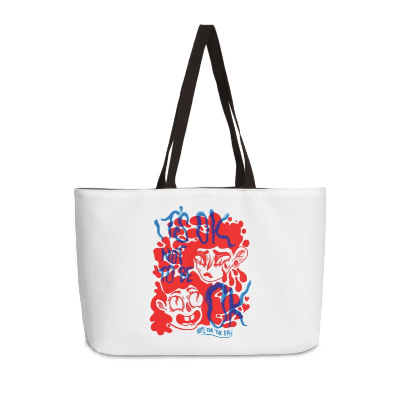 Anna Lisa - Artist Series Accessories Weekender Bag Bag by Hope for the Day Shop