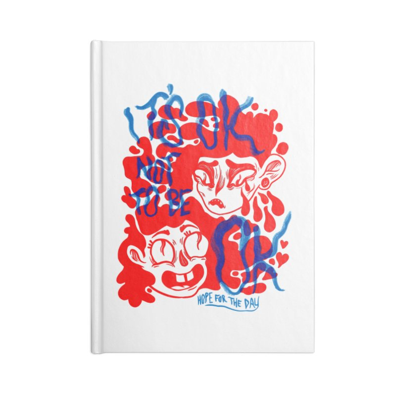 Anna Lisa - Artist Series Accessories Lined Journal Notebook by Hope for the Day Shop