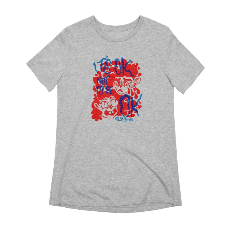 Anna Lisa - Artist Series Women's Extra Soft T-Shirt by Hope for the Day Shop