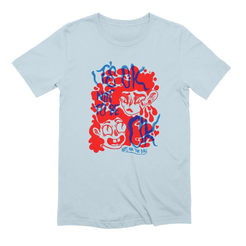 Anna Lisa - Artist Series Men's Extra Soft T-Shirt by Hope for the Day Shop