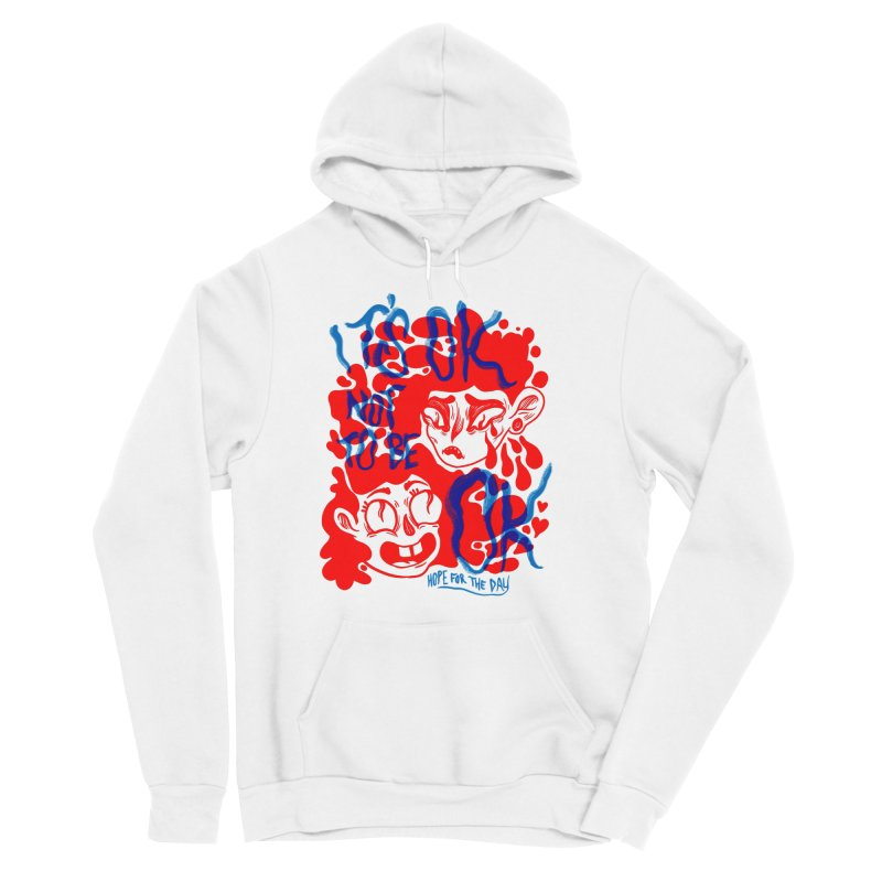Anna Lisa - Artist Series Men's Sponge Fleece Pullover Hoody by Hope for the Day Shop
