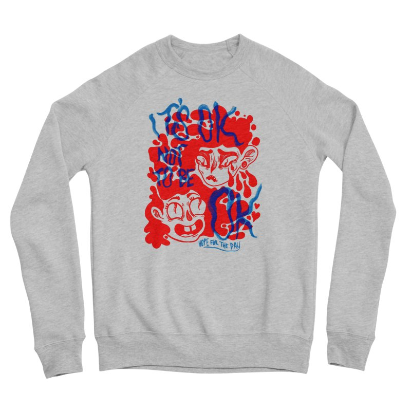 Anna Lisa - Artist Series Men's Sponge Fleece Sweatshirt by Hope for the Day Shop