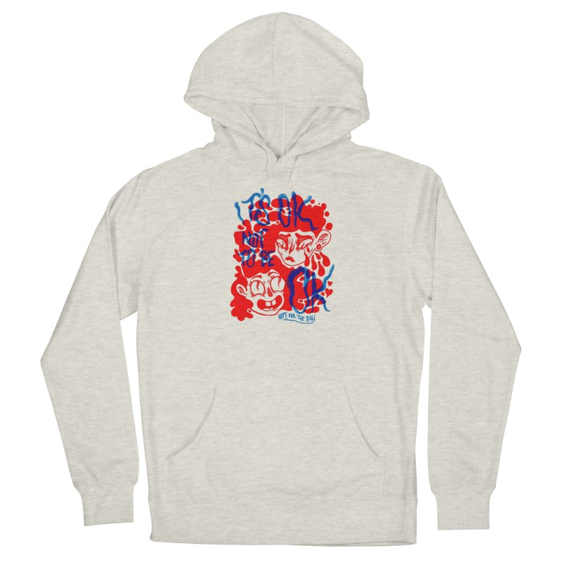 Anna Lisa - Artist Series Women's French Terry Pullover Hoody by Hope for the Day Shop