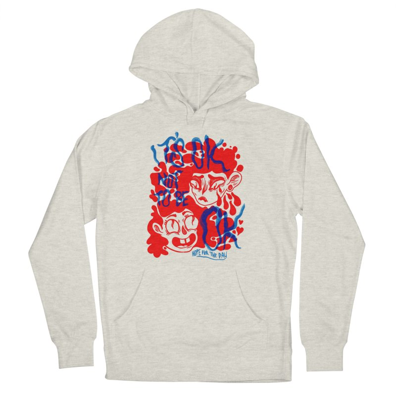 Anna Lisa - Artist Series Men's French Terry Pullover Hoody by Hope for the Day Shop