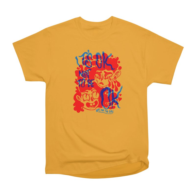 Anna Lisa - Artist Series Men's Heavyweight T-Shirt by Hope for the Day Shop