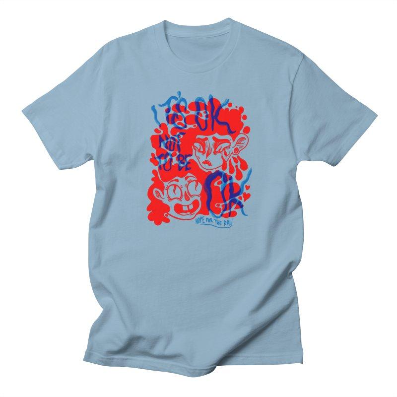 Anna Lisa - Artist Series Men's Regular T-Shirt by Hope for the Day Shop