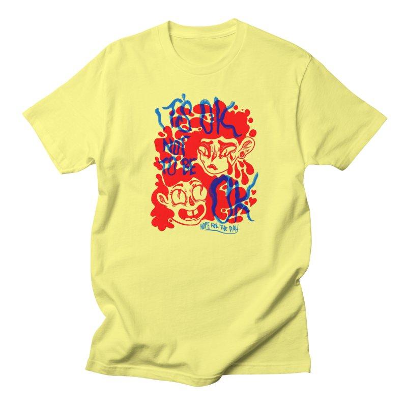 Anna Lisa - Artist Series in Men's Regular T-Shirt Lemon by Hope for the Day Shop