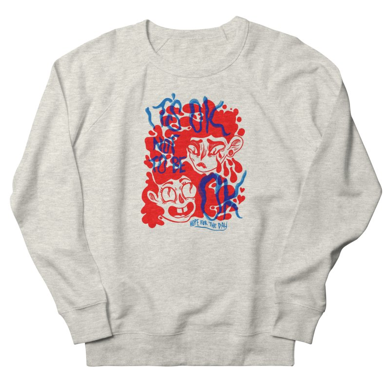 Anna Lisa - Artist Series Women's French Terry Sweatshirt by Hope for the Day Shop