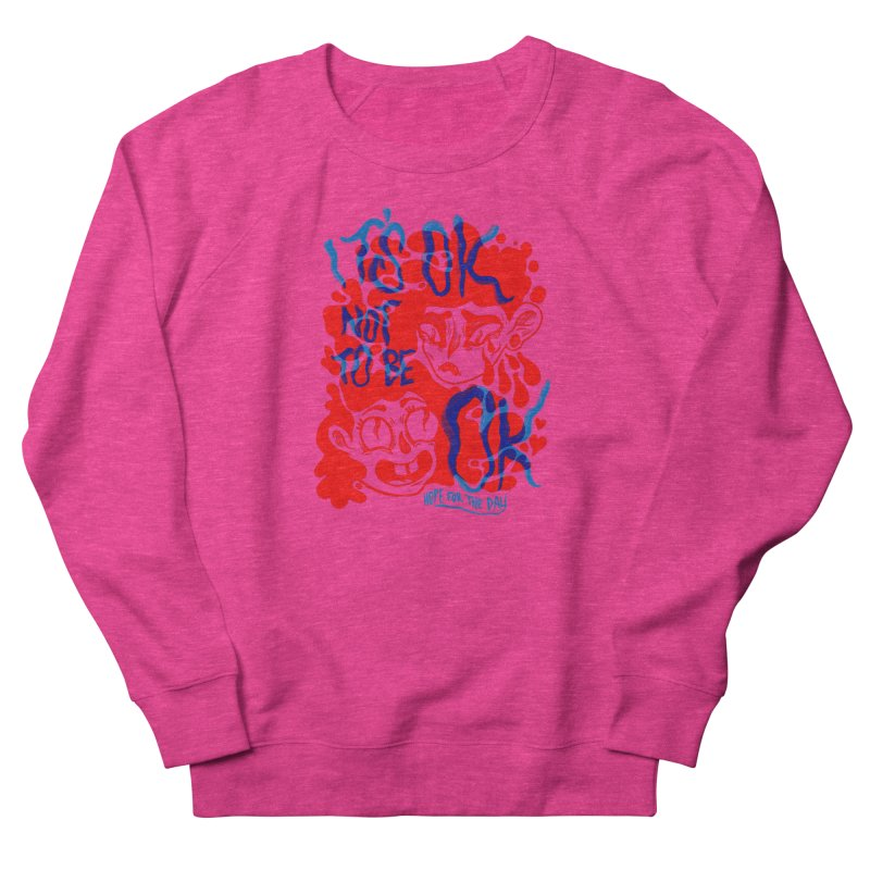 Anna Lisa - Artist Series Men's French Terry Sweatshirt by Hope for the Day Shop