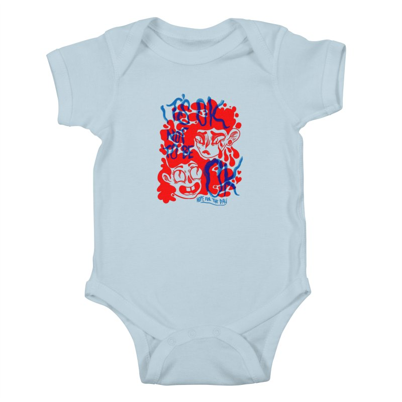 Anna Lisa - Artist Series Kids Baby Bodysuit by Hope for the Day Shop