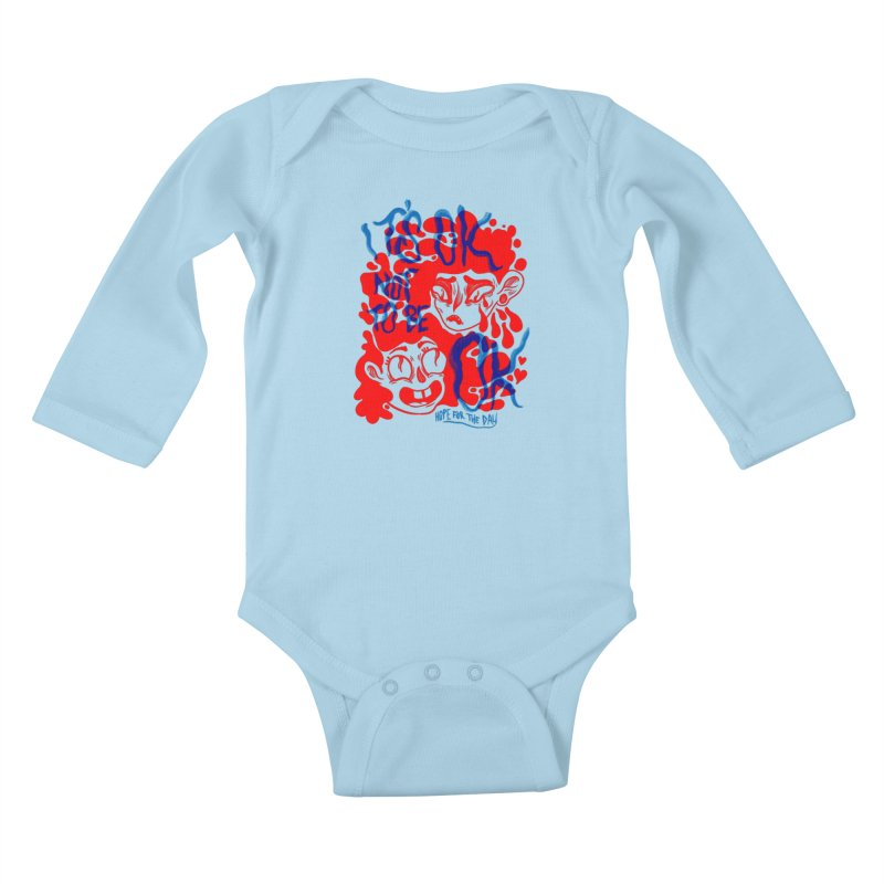Anna Lisa - Artist Series Kids Baby Longsleeve Bodysuit by Hope for the Day Shop