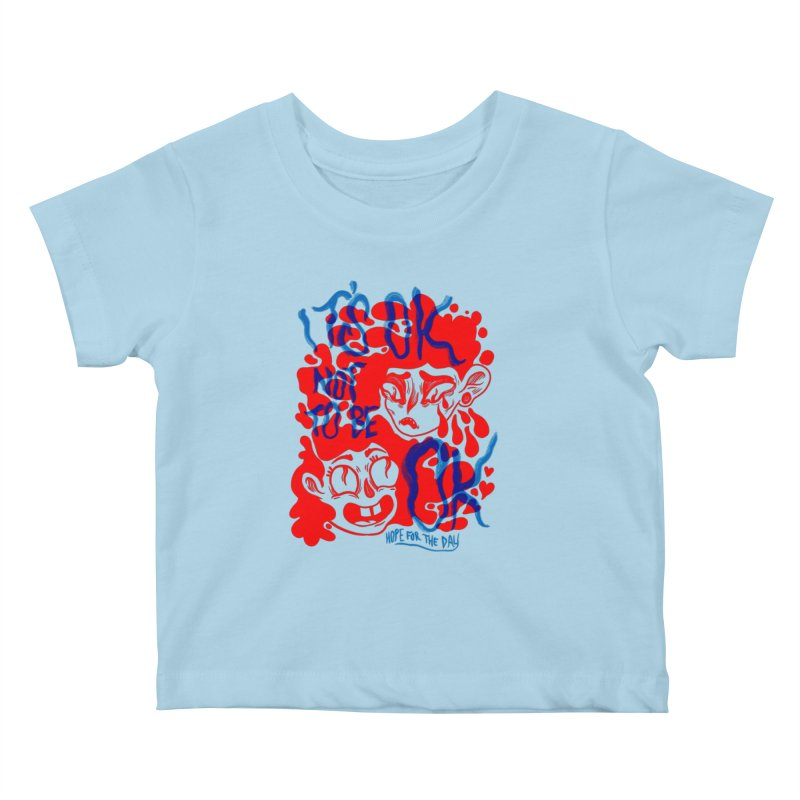 Anna Lisa - Artist Series Kids Baby T-Shirt by Hope for the Day Shop