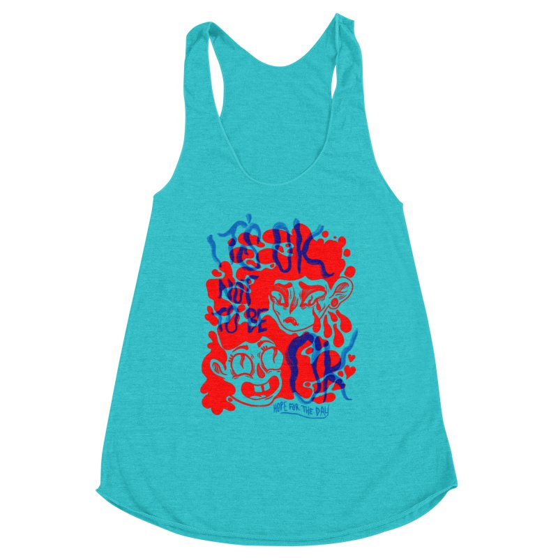 Anna Lisa - Artist Series Women's Racerback Triblend Tank by Hope for the Day Shop