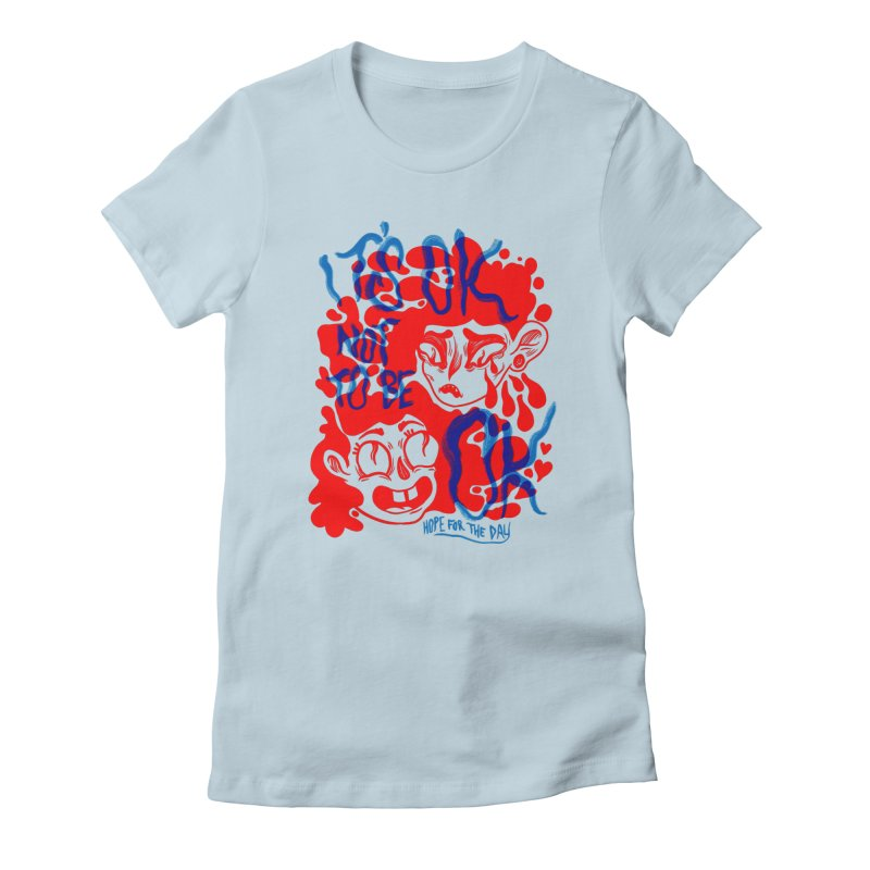 Anna Lisa - Artist Series Women's T-Shirt by Hope for the Day Shop