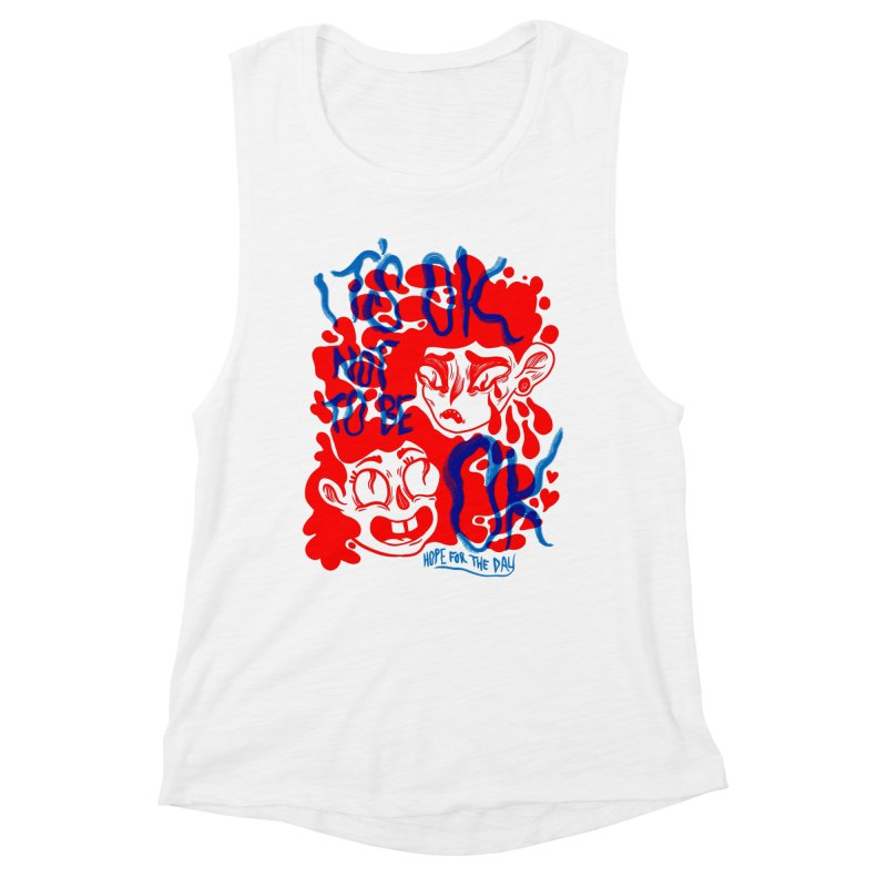 Anna Lisa - Artist Series Women's Muscle Tank by Hope for the Day Shop