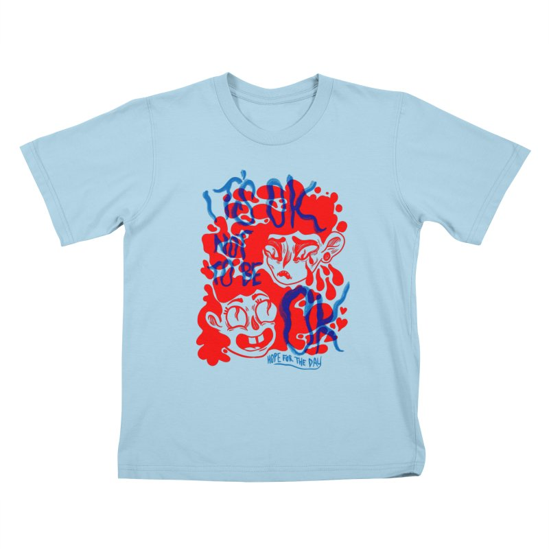 Anna Lisa - Artist Series Kids T-Shirt by Hope for the Day Shop