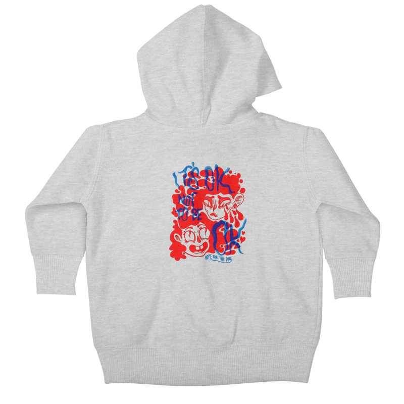 Anna Lisa - Artist Series Kids Baby Zip-Up Hoody by Hope for the Day Shop