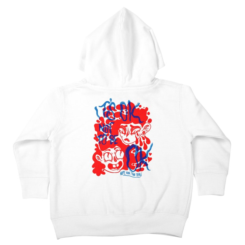 Anna Lisa - Artist Series Kids Toddler Zip-Up Hoody by Hope for the Day Shop