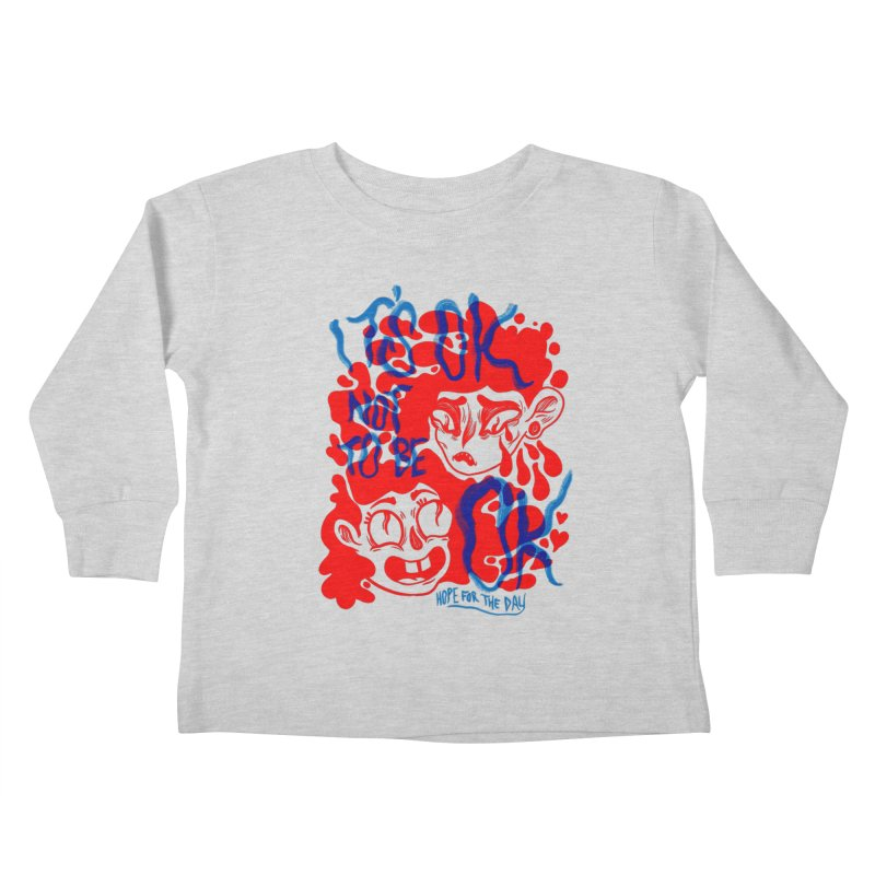 Anna Lisa - Artist Series Kids Toddler Longsleeve T-Shirt by Hope for the Day Shop