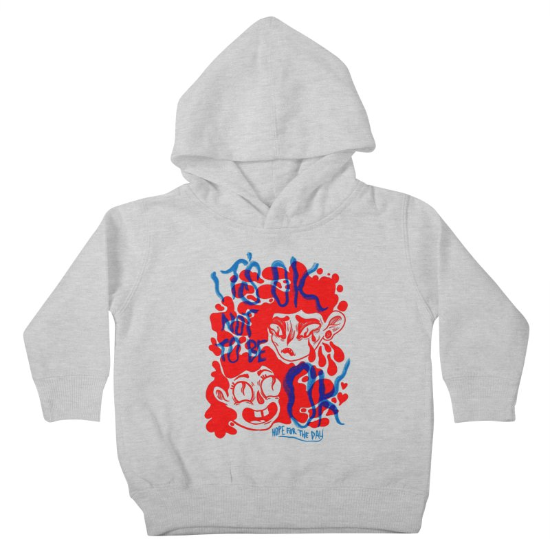 Anna Lisa - Artist Series Kids Toddler Pullover Hoody by Hope for the Day Shop