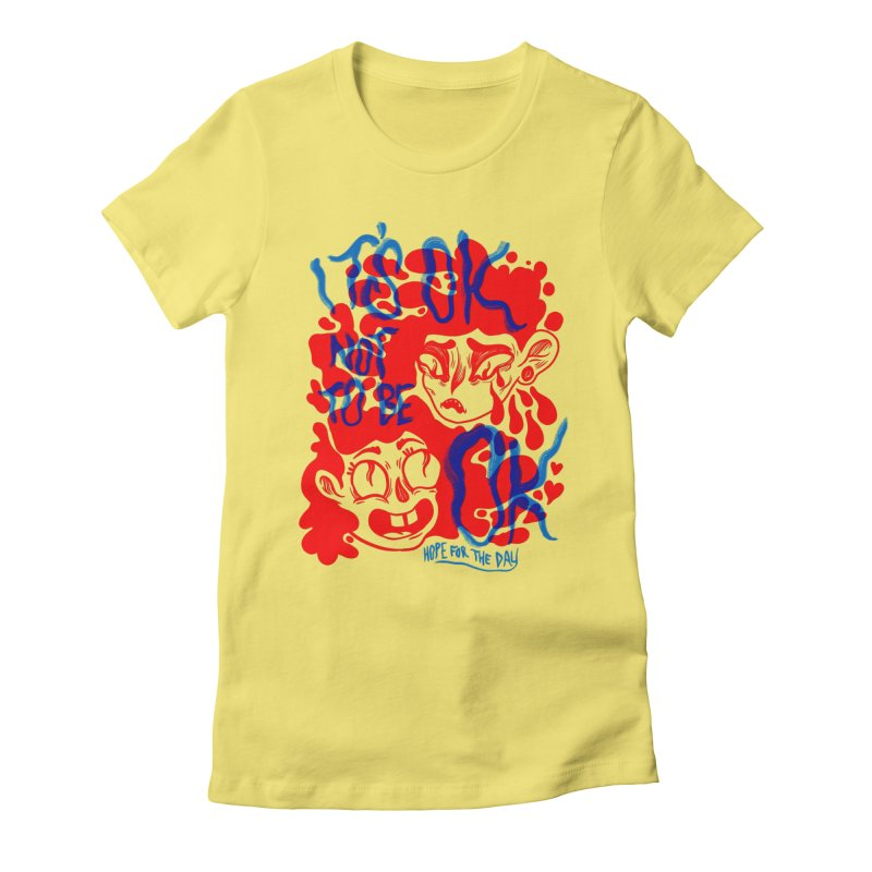Anna Lisa - Artist Series Women's Fitted T-Shirt by Hope for the Day Shop