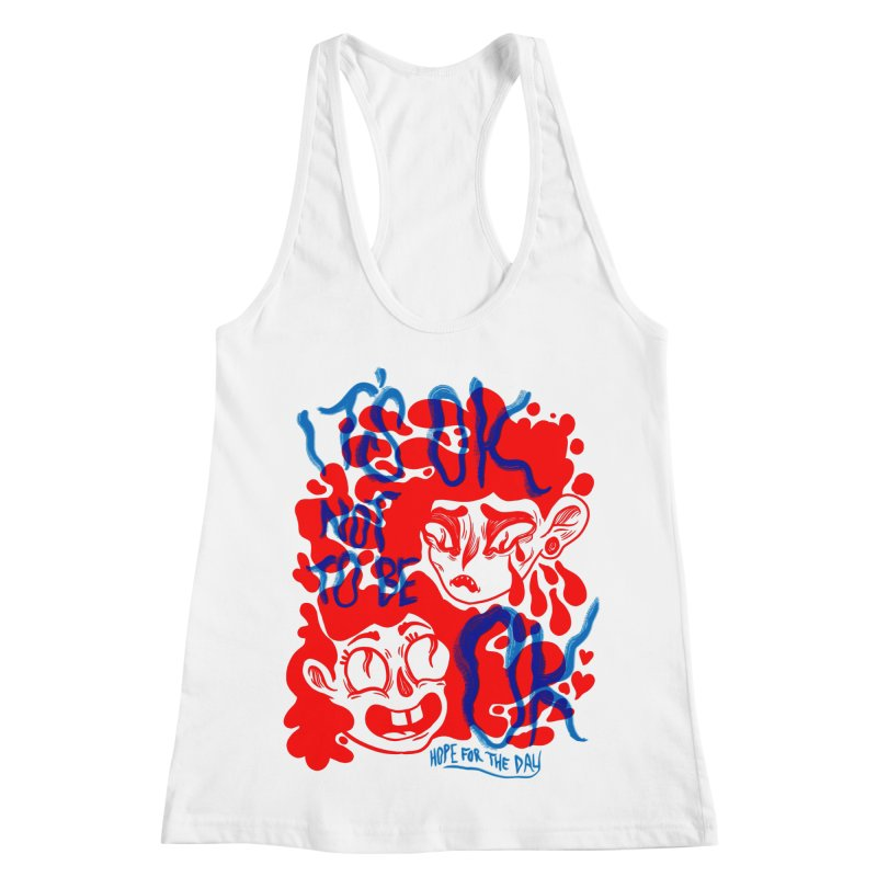Anna Lisa - Artist Series Women's Racerback Tank by Hope for the Day Shop