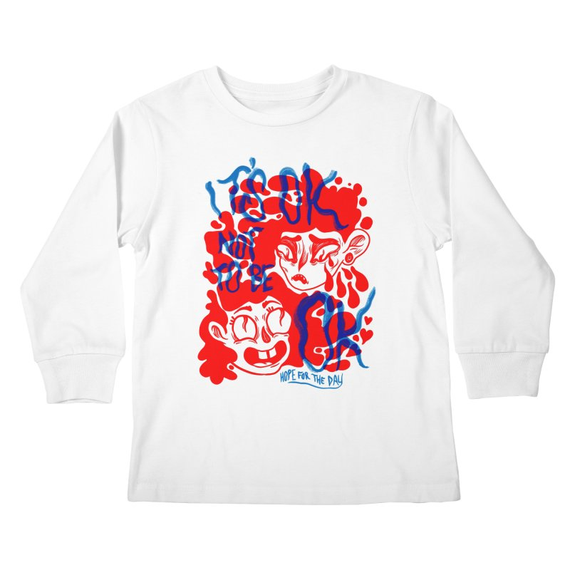 Anna Lisa - Artist Series Kids Longsleeve T-Shirt by Hope for the Day Shop
