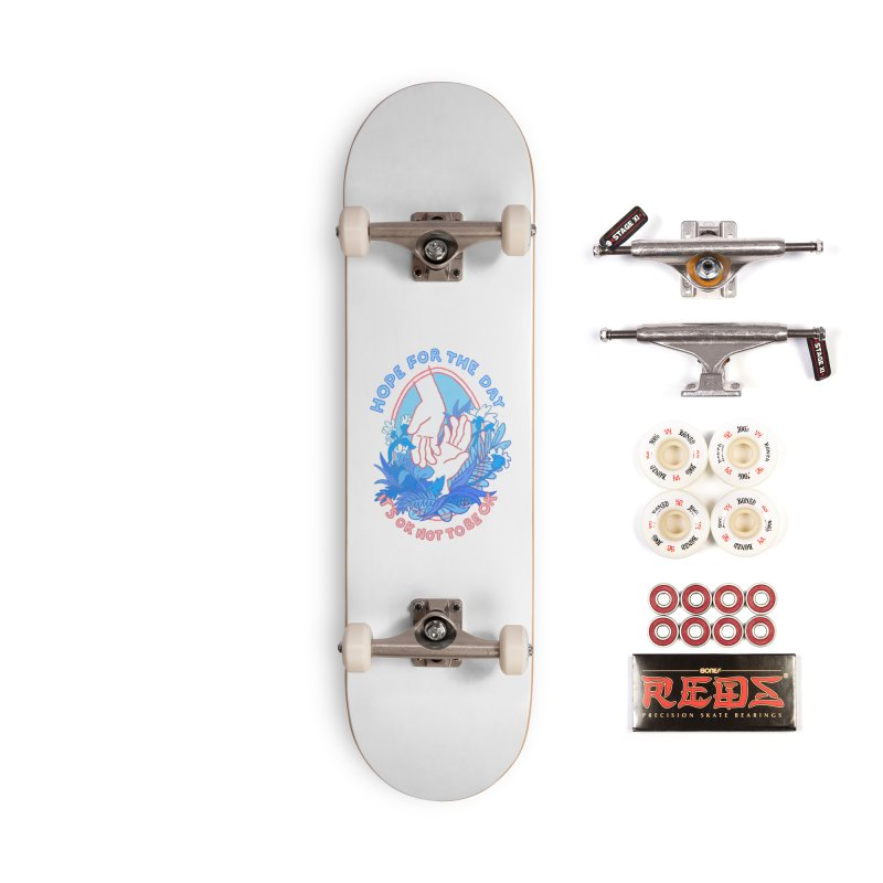 Andrea Bell - Artist Series Accessories Complete - Pro Skateboard by Hope for the Day Shop