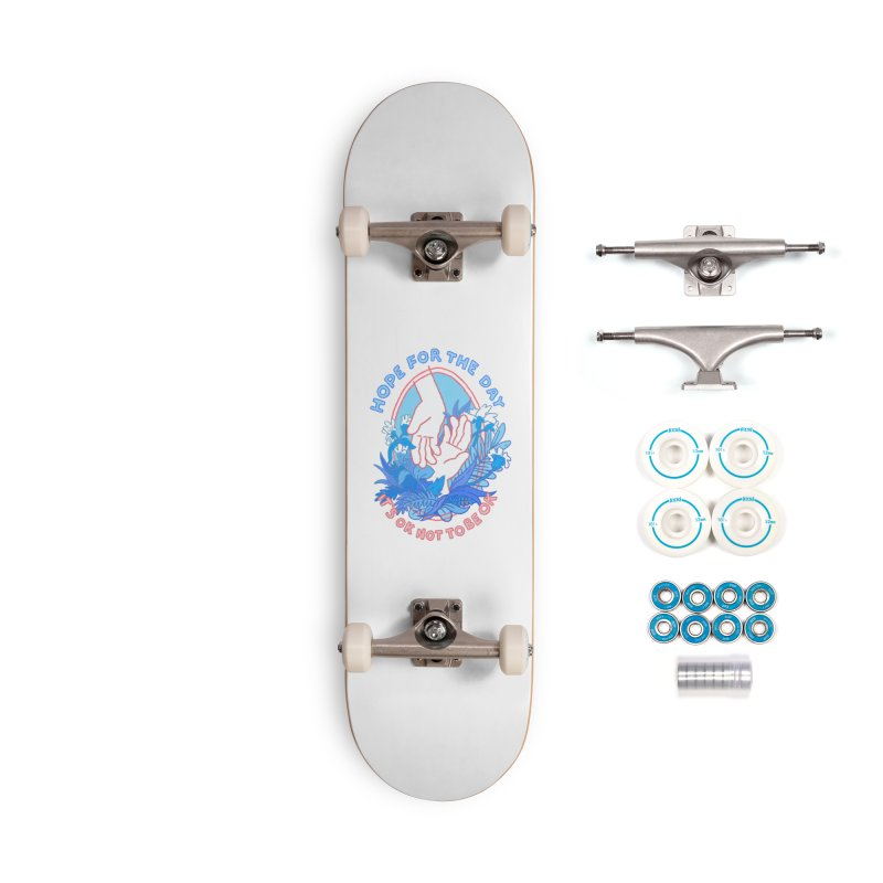 Andrea Bell - Artist Series Accessories Complete - Basic Skateboard by Hope for the Day Shop