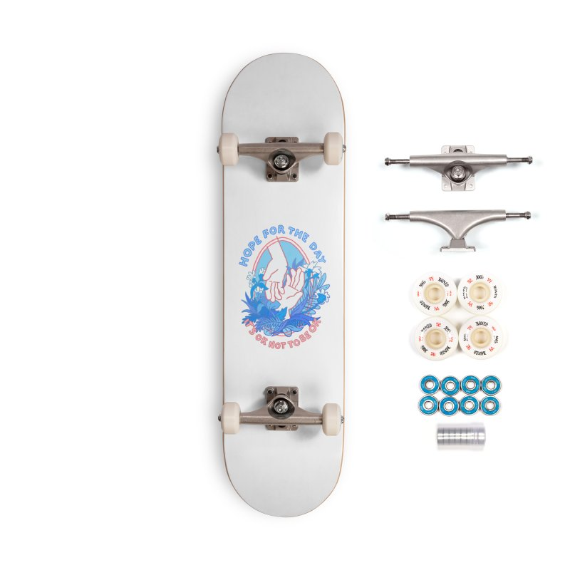 Andrea Bell - Artist Series Accessories Complete - Premium Skateboard by Hope for the Day Shop