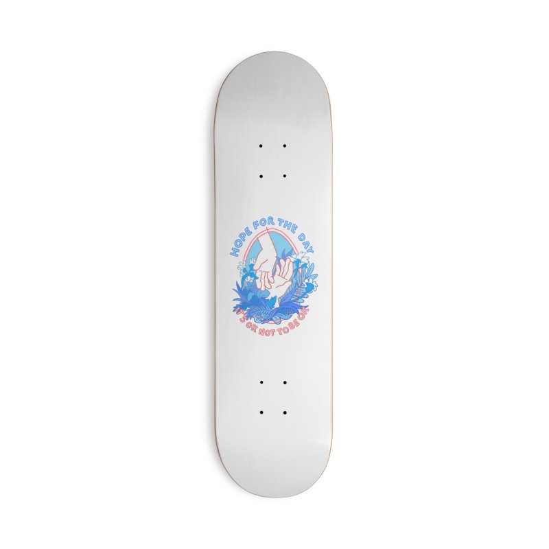 Andrea Bell - Artist Series Accessories Deck Only Skateboard by Hope for the Day Shop