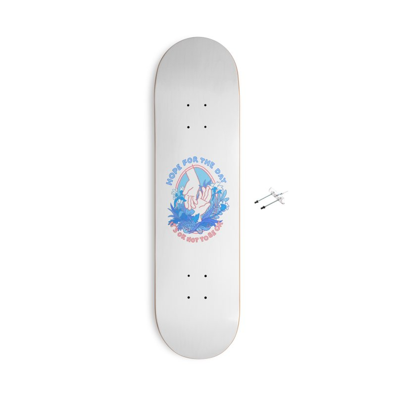 Andrea Bell - Artist Series Accessories Skateboard by Hope for the Day Shop
