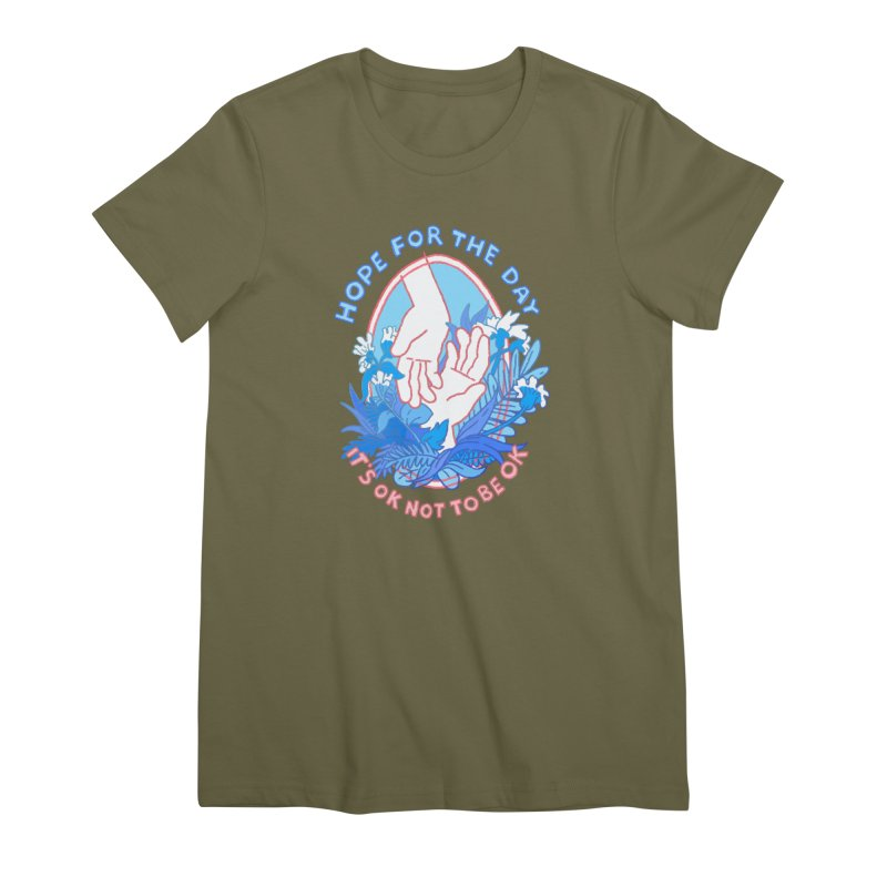 Andrea Bell - Artist Series Women's Premium T-Shirt by Hope for the Day Shop