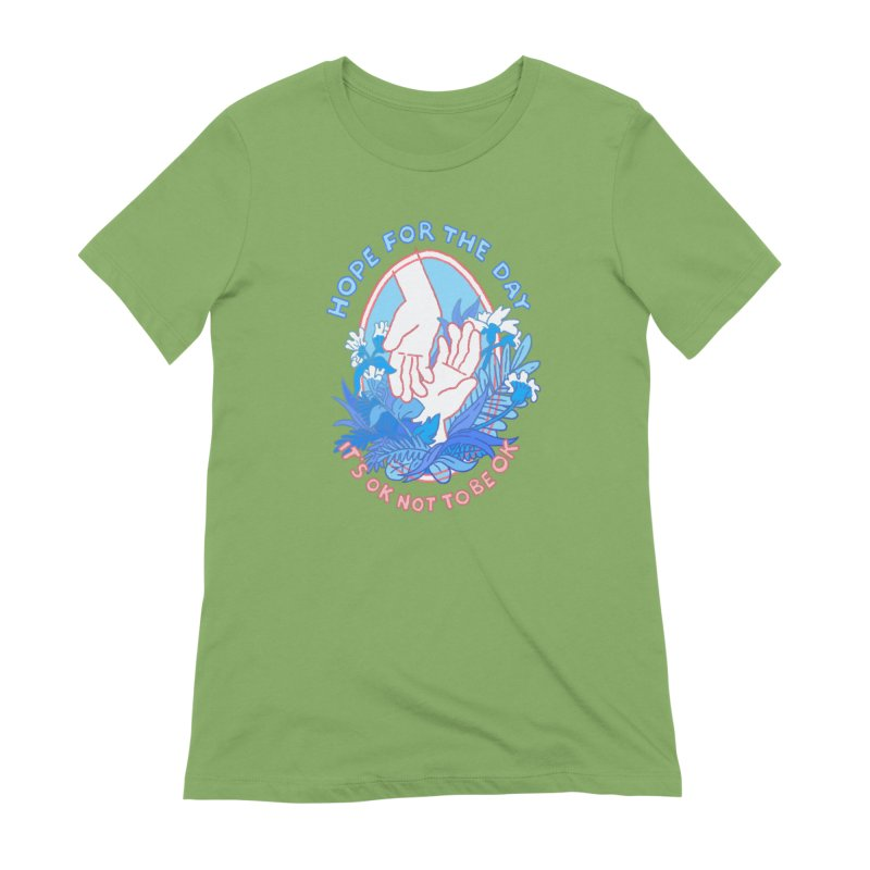Andrea Bell - Artist Series Women's Extra Soft T-Shirt by Hope for the Day Shop