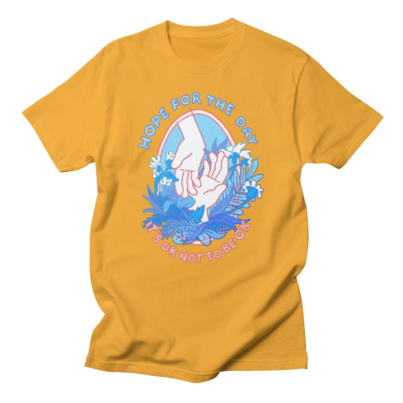 Andrea Bell - Artist Series Men's T-Shirt by Hope for the Day Shop