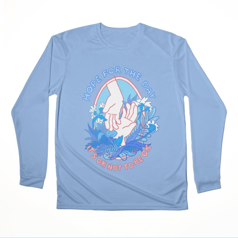 Andrea Bell - Artist Series Women's Performance Unisex Longsleeve T-Shirt by Hope for the Day Shop