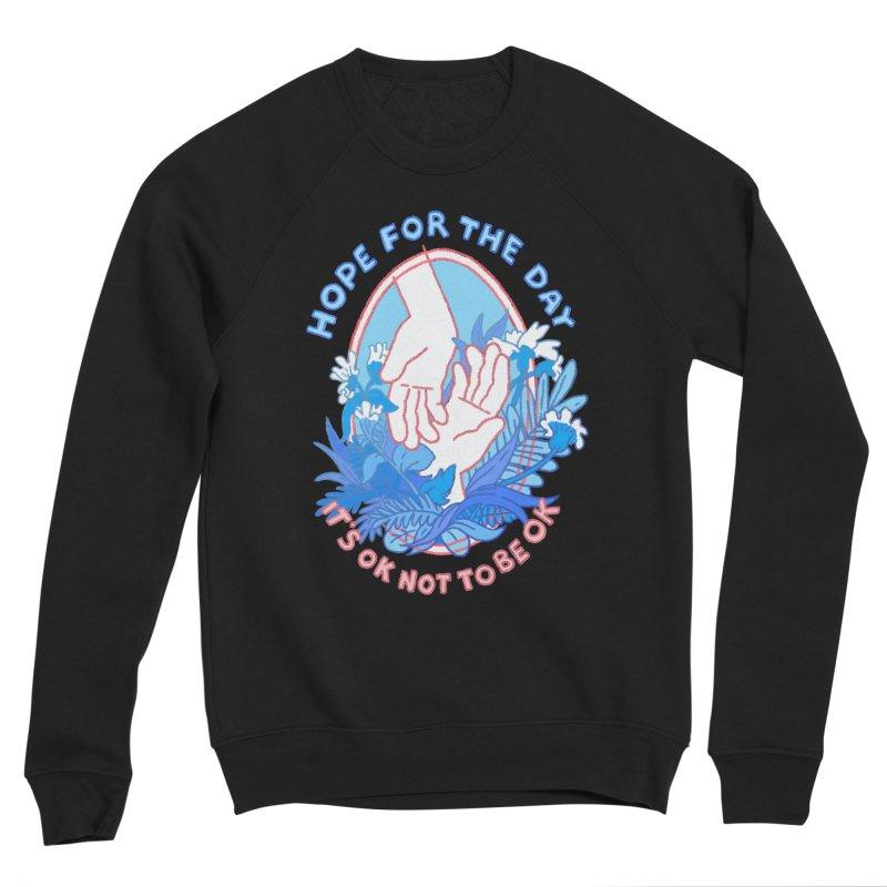 Andrea Bell - Artist Series Men's Sponge Fleece Sweatshirt by Hope for the Day Shop