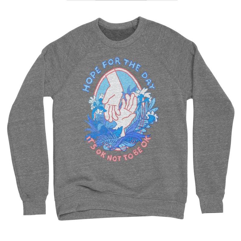 Andrea Bell - Artist Series Women's Sponge Fleece Sweatshirt by Hope for the Day Shop