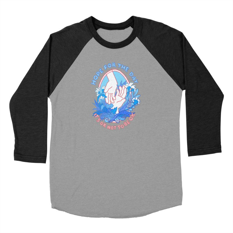 Andrea Bell - Artist Series Men's Baseball Triblend Longsleeve T-Shirt by Hope for the Day Shop