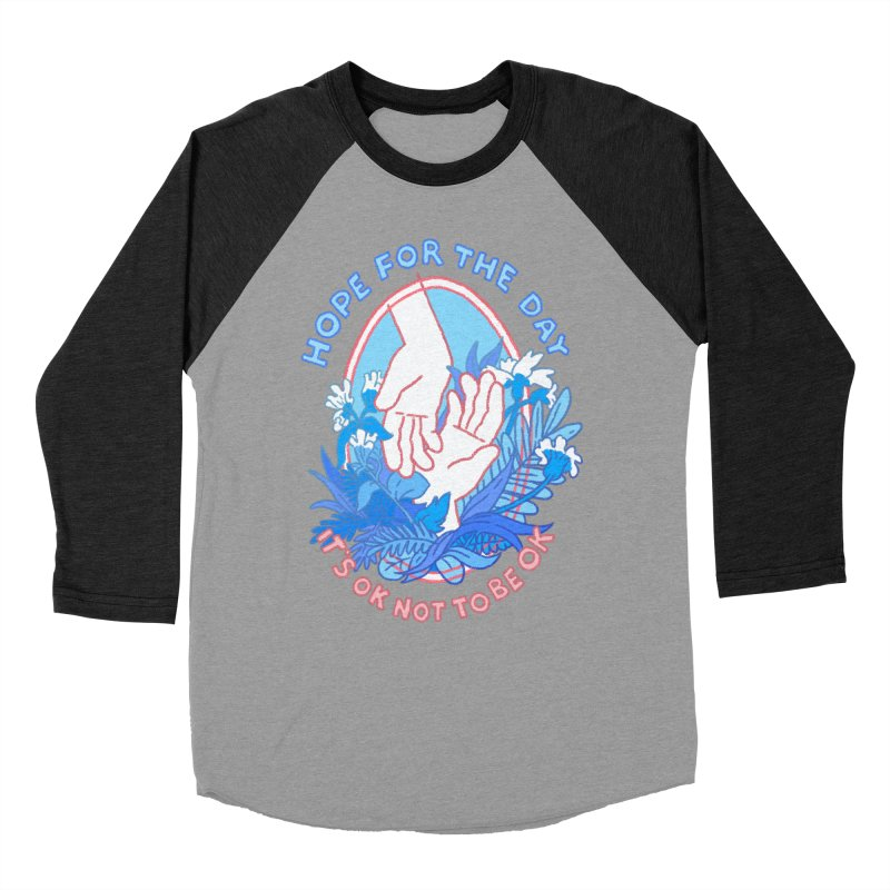 Andrea Bell - Artist Series Women's Baseball Triblend Longsleeve T-Shirt by Hope for the Day Shop