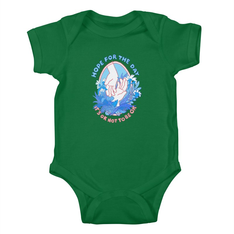 Andrea Bell - Artist Series Kids Baby Bodysuit by Hope for the Day Shop